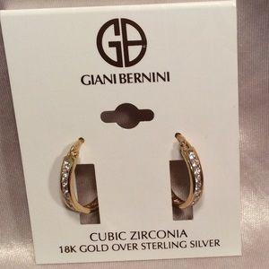 Giani Bernini CZ In/Out Channel Earrings